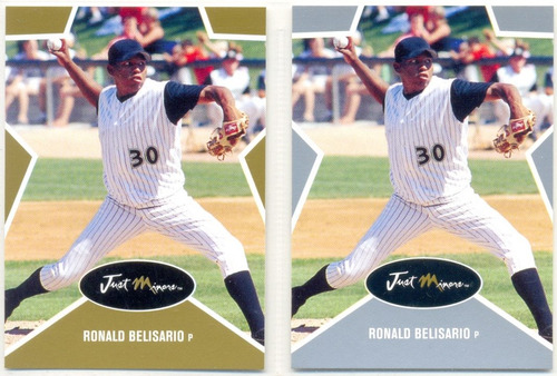 combo ronald belisario just minors  2003 p5 -245/1000