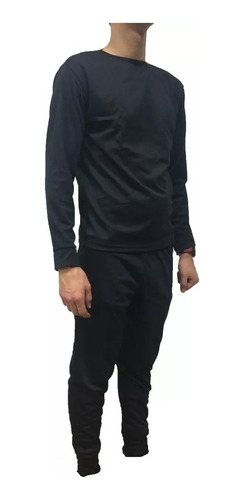 combo ropa térmica primera piel camiseta + pantalón + medias