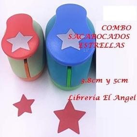 b4edd7e5f9d Sacabocado Estrellas Para Papel en Mercado Libre Argentina