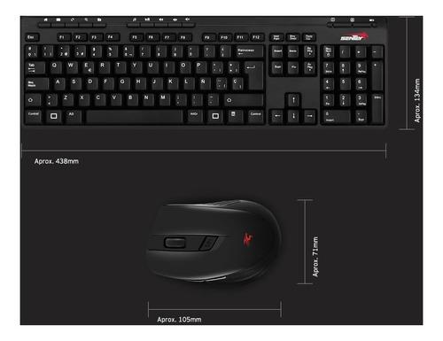 combo sentey teclado + mouse + parlantes potenciados usb box