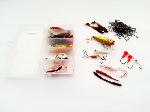 combo señuelos # 2 (para pesca deportiva)  remate bodega