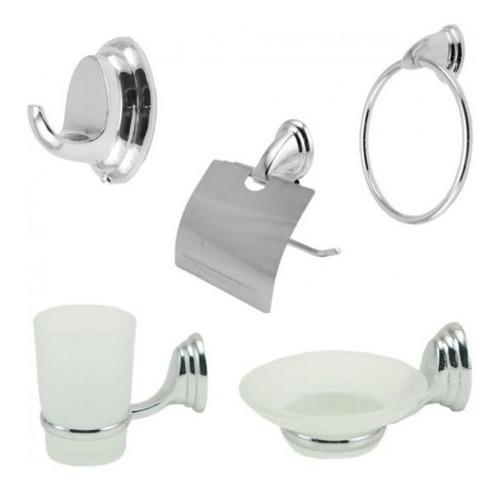 combo set accesorios para baño incluye 5 piezas oferta!!!