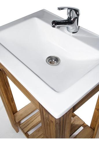 combo set bacha maral blanca griferia vanitory 50cm baño