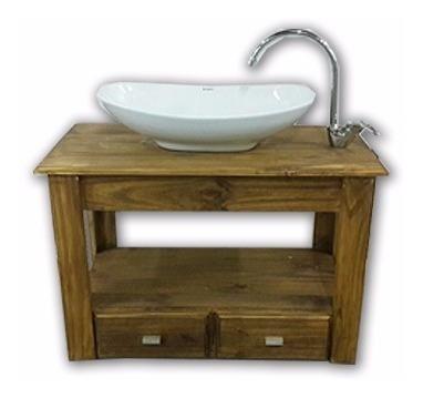 combo set completo bacha griferia monoc vanitory 80cm baño !