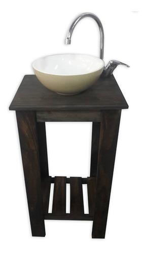 combo set completo bacha griferia vanitory tapa 40cm baño !
