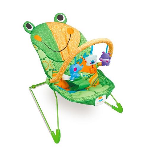 combo silla vibradora sapo funny smile + alfombra antigolpe