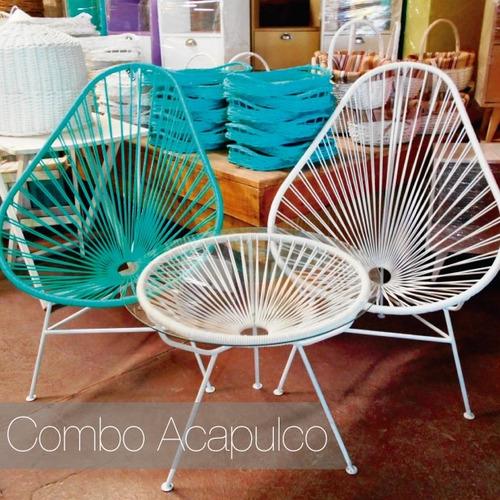 Juego De Jardin Acapulco - Muebles de Jardín en Mercado Libre ...