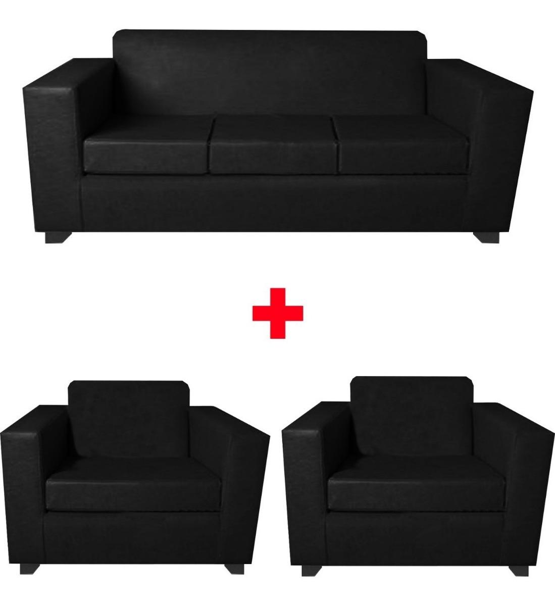 2 Sofa 1 Cuerpo Chenille Bolton