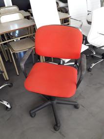 Ruedas Sillas Con Combo Regulables Sillón Color Oficina Rojo Fl1JTKc