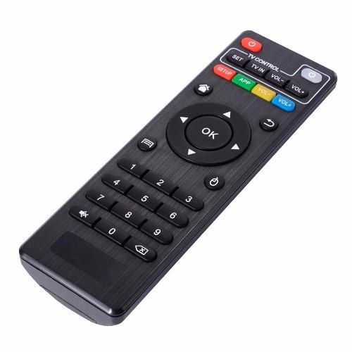 combo smart tv box mxq 4k + teclado con touchpad inalamb loi