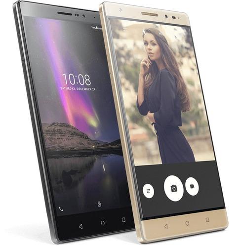combo smartphone lenovo phab2 4g lte 6.4plg 32gb + audífonos