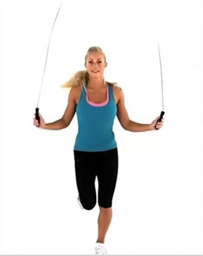 combo soga saltar cuerda liga expandible eguipo de ejercicio