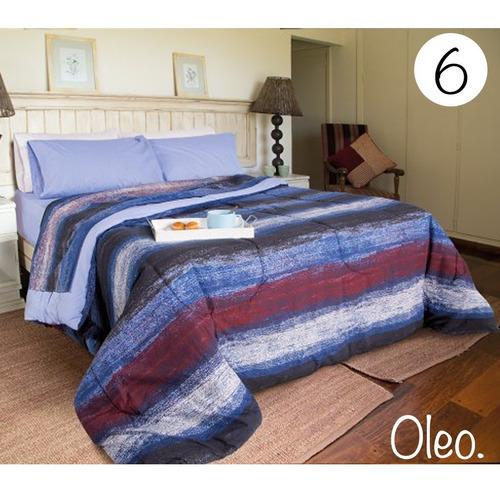combo sommier piero paraiso 150 acolchado sabana almohadas
