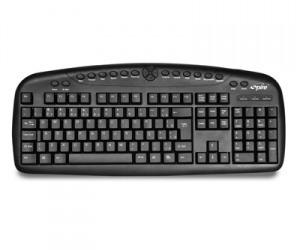 combo spire teclado, mouse óptico, parlantes
