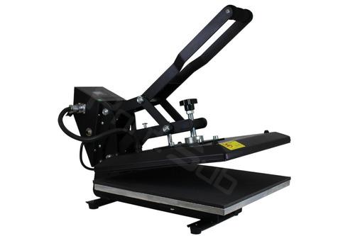 combo sublimação prensa plana estampar 38x38 + impressora a4