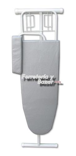 combo tabla planchar premium + tender ropa 8v gris hot sale