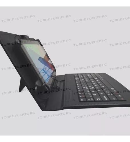 combo tablet 7 pulg 16gb 1gb ram pc 4core + funda teclado