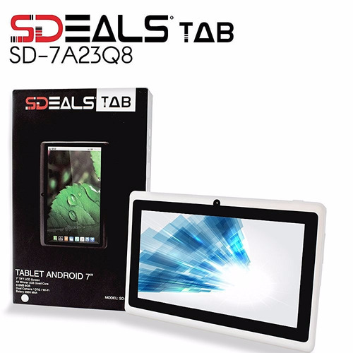 combo tablet 7 sdeals android 8gb, doble camara + flash, bt