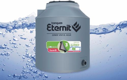 combo tanque de agua completo eternit tricapa 500 litros