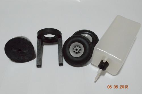 combo tanque+spinner+montante+roda aeromodelo .40/ .55