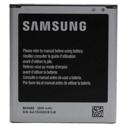 combo tapa trasera cuero + bateria original galaxy s4