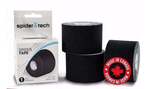 combo tape cintas spidertech kinesio + plantillas deportivas