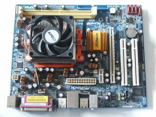 combo tarjeta madre amd+procesador-disipador+memoria y disco