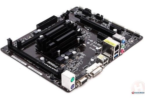 combo tarjeta madre asrock d1800m + proc dual core + ram 4gb
