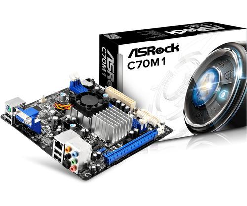 combo tarjeta madre c70m1 + procesador + memoria ram 4gb