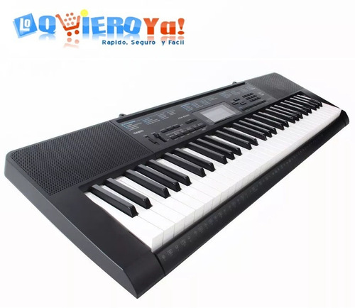 combo teclado casio ctk2400/2300 soporte + fuent + fund