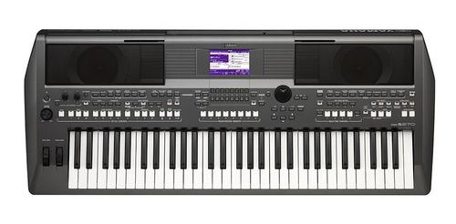 combo teclado digital yamaha psr-s670 con adaptador y base