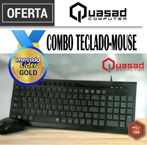 combo teclado + mouse genius, quasad nuevo  precio inc iva