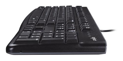 combo teclado mouse mk120 logitech