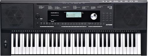 combo teclado organo kurzweil kp100 sens fuente soporte banq