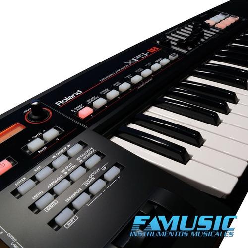 combo teclado sintetizador roland xps10 + soporte + fuente