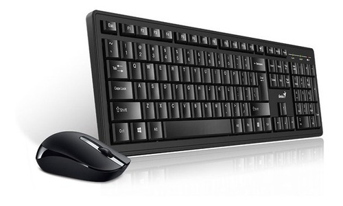 combo teclado y mouse genius smart km-8200 inalámbrico negro