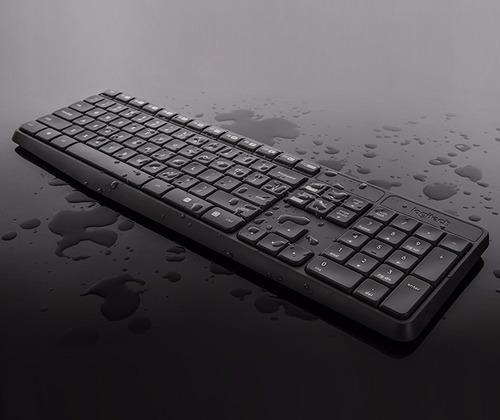 combo teclado y mouse inalambrico logitech mk235 multimedia