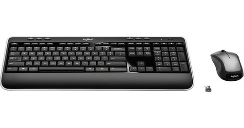 combo teclado y mouse inalambrico logitech mk520