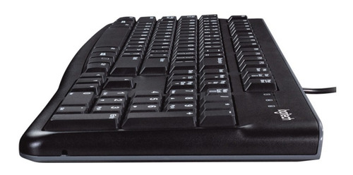 combo teclado y mouse logitech mk120 alambrico