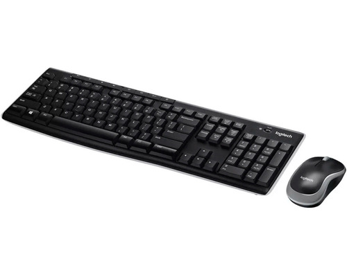 combo teclado y mouse logitech mk270 920-004432 inalambrico