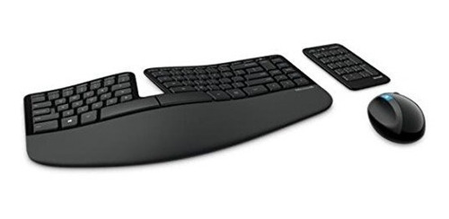 combo teclado y ratón puerto usb microsoft sculpt ergonomic