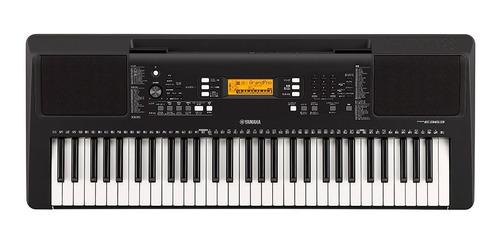 combo teclado yamaha psr-e363 con adaptador, base y estuche