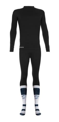 combo termico primera piel kit remera calza media termica