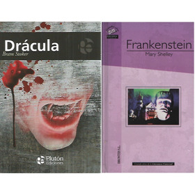 Combo Terror Dracula Bram Stoker - Frankenstein M W Shelley
