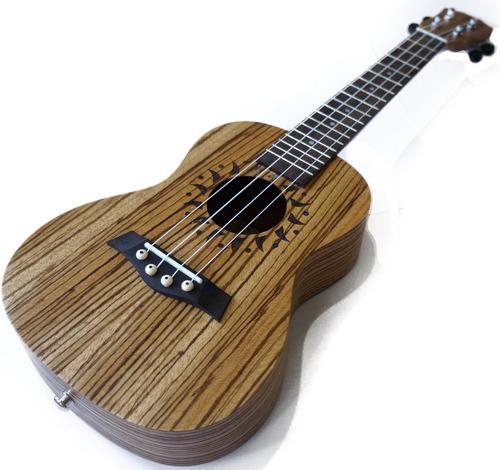 combo ukulele handel hu23 concierto estuche atril cuerdas re
