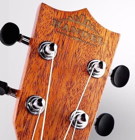 combo ukulele handel hu60-23 concierto estuche atril cuerdas