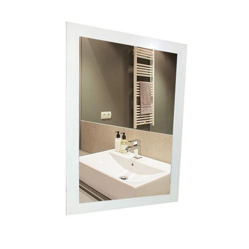 combo vanitory colgante melamina 60cm con espejo 50x60cm