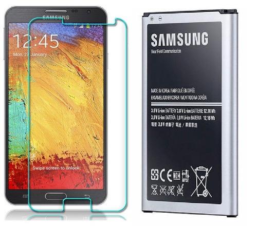 combo vidrio templado + bateria original galaxy note 3 neo