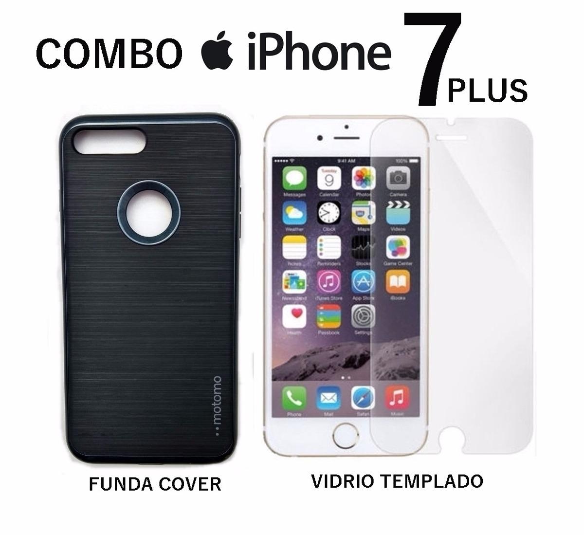 6def98f3ad6 combo vidrio templado + funda apple iphone 7 plus rosario. Cargando zoom.