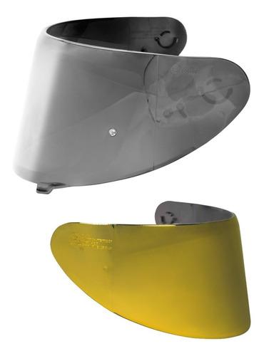 combo viseira para capacte axxis iridium original